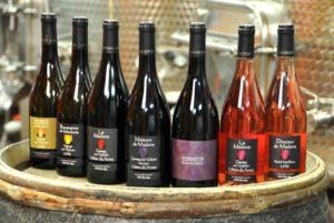 Bouteilles de vin - Domaine de la Madone