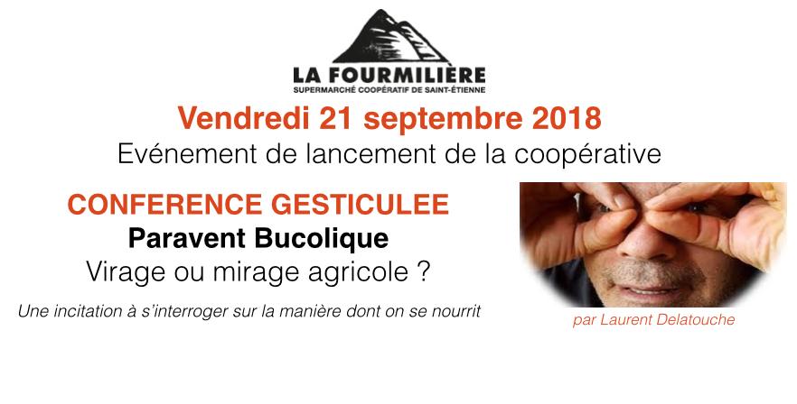 Conférence gesticulée le 21/09/2018