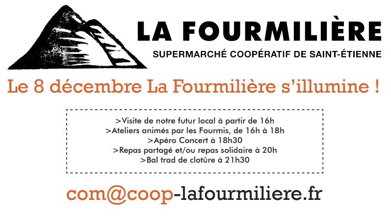 Flyer La Fourmilière s'illumine