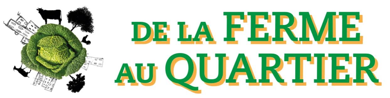 De La Ferme Au Quartier Logo